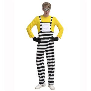 Jumpsuits, Family Outfits, Rompers, Parent-Child Clothing, Minions Clothes, #N14405