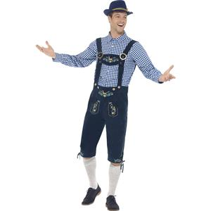 German Beer Costume, Oktoberfest Costume for Men, Beer Boy Costume, Adult Men