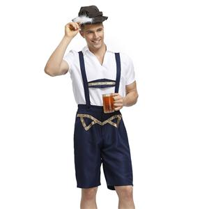 German Beer Oktoberfest Costume, Oktoberfest Costume for Men, Beer Boy Costume, Adult Men