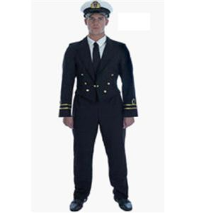 Mens Retro Pilot Costume, Airline Costume, Pilot Halloween Costume, #N5085