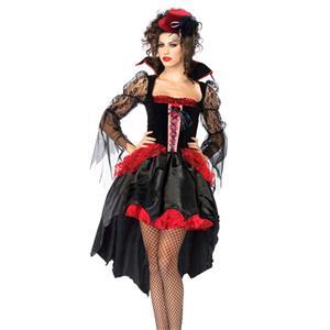Midnight Mistress Costume, Midnight Vampire Costume, Womens Vampire Costume, #W1719
