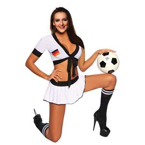World Cup Skirt Set, Sexy Lingerie Girl