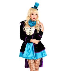Mad Hatter Deluxe Adult Costume, Mischievous Mad Hatter Deluxe Adult Costume, #N4585