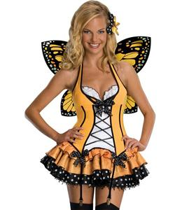 Lovely Monarch Costume, Orange Butterfly Costume, Womens Butterfly Costumes, #N4276