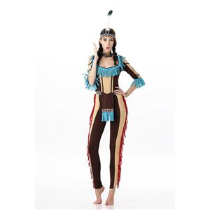 My Sexy Indian Maiden Costume, Adult Indian Costumes, Indian Maiden costume, #N11674
