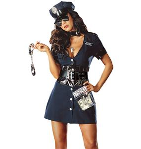 Naughty Cop costume, Police Costumes, Adult Cop Sexy Costume, #N4371