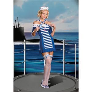 Sexy Sailor Costumes, Sailor Sexy Outfit, Sailor Uniform, #M1616