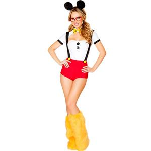 Nerdy Mouse Costume N11208