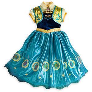 2015 New Frozen Girl Dress, Frozen Fever Kid Costume, Frozen Fever Anna Kid Costume, Cheap Girl Princess Dress, #N10346