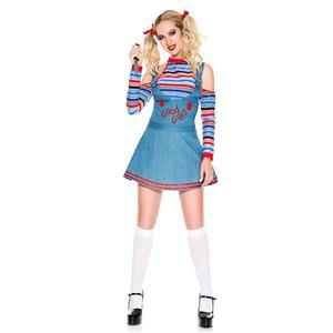 Halloween Ghost Doll Costume, Girl Halloween Horrid Costume, Doll Costume, Adult Ghost Doll Costume,Rotten Girl Costume,Adult Wonderland Halloween Costume,Girl