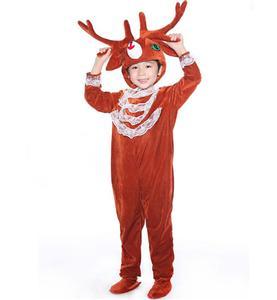 Nifty Reindeer Jumpsuit Romper N6297