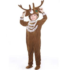 Reindeer Jumpsuit Romper Children, Christmas Reindeer Costume, Children Reindeer Costume, #N6297