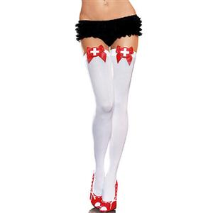Nurse Stockings, Sexy Stockings, Fishnet Stockings, Thigh High Stockings, #HG2851