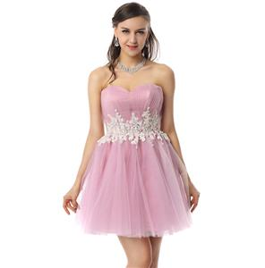 Pretty Pastel-Violet Dress, Cheap Prom Dresses, Homecoming Dresses under 300 on sale, A-line Sweet 16 Dresses, Hot Selling Sweetheart Dresses, #Y30082