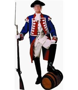 deluxe adult patriot costume, Costumes for Men, deluxe adult patriot costume, #N4883