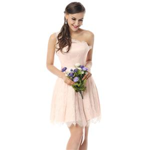 Lovely Prom Dresses, Hot Selling Bridesmaid Dresses, Prom Dresses for women, Cheap Homecoming Dresses, Girls Lace Satin Dresses on sale under 300, #F30064