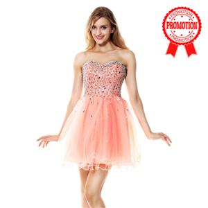Pearl Pink Sweet 16 Dresses, A-line Dresses on sale for cheap, Hot Selling Homecoming Dresses, Girls Dresses for cheap, #Y30050