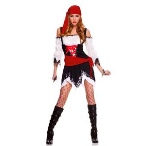 Pirate Vixen Girl Costume, Pirate Costume, Pirate Halloween Costume, #N4759