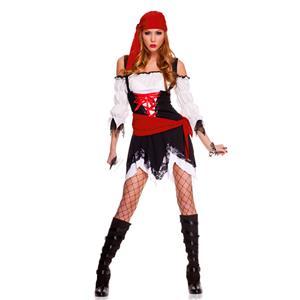 Pirate Vixen Girl Costume Pirate Costume Pirate Halloween Costume #N4759  sc 1 st  MallTop1.com & Sexy Pirate Costumes womens Pirate CostumesFemale Pirate Costumes-P2