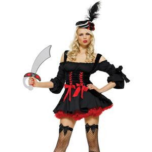 Sexy Pirate Costumes, womens Pirate Costumes, Pirate Wench Costume, #P2085