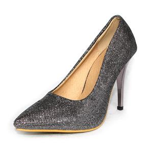 Man From the Stars Same Style High Heels, Pointed Toe Luxury Bling Pumps, Glitter High Heels, #SWS12135