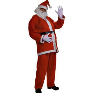 Popular Santa Christmas Costume, Santa Christmas Party Costume, Cheap High Quality Christmas Costume,  #XT9712