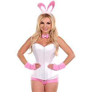 Bunny Costume for Women, Cartoon Character Costume, Animal Costume, Plus Size Costume, Halloween Costume for Women, #N11104