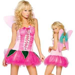 Sexy Fairy Costumes, Pretty Pink Pixie Costume, #N2131