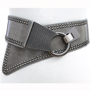 Tied Wasit Belt, High Waist Corset Cinch Belt, Vintage Wasit Belt, Waist Cincher Belt, Wide Waistband Cinch Belt, Elastic Waist Belt, Waistband For Women, Punk Waist Belt. #N14836