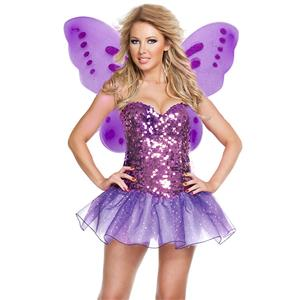 Woodland Fairy Costume, Green Fairy Costume, Adult Fairy Costume, Cosplay Costume, Butterfly Costume, #N14976