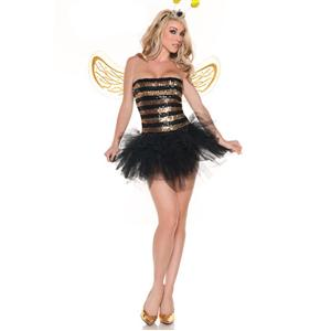 Sexy Butterfly Costumes, Bee Costumes, Sequins Bee Costume, #N2573