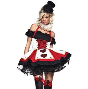 Queen of Hearts Halloween Costume N5616