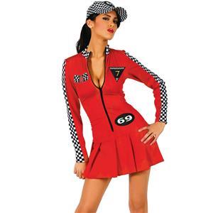 Racer Girl Costume, Sexy sport Costume, sport Lingerie, #M2583