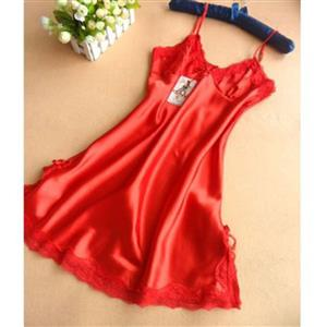 Sexy Nightgown for women, Sexy Lace Babydoll Lingerie Set, Cheap Fashion Lingerie, One-size Lingerie Dress, Sleepwear dress, Women