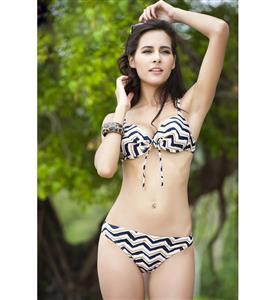 Regular Wavy Bikini Set BK7702