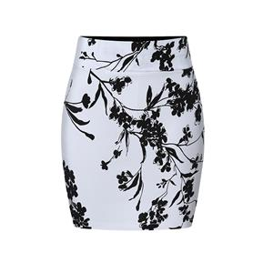 Floral Print Skirt, High Waist Skirt, Midi Skirt Bodycon, Office Skirts, Fitting Skirt, Pencil Skirt, Package Hip Skirt, Retro Skirt #N17703