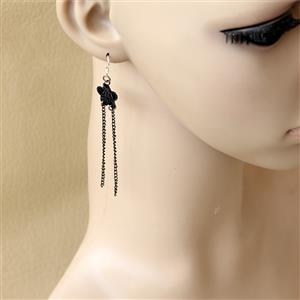 Retro Alloy Earrings, Gothic Style Earrings, Fashion Earrings for Women, Vintage Earrings, Casual Earrings, Vicorian Gothic Earrings, Fashion Lace Earrings, #J18428