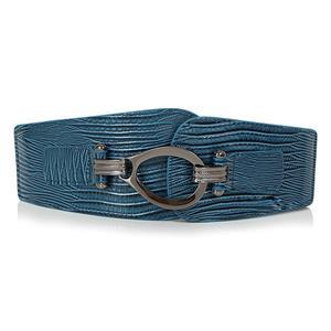 Punk Waist Belt, Metal Waist Belt, Vintage Waist Belt, Elastic Waist Belt, Waist Belt for Women, Wide Cinch Belt, #N15381