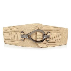 Punk Waist Belt, Metal Waist Belt, Vintage Waist Belt, Elastic Waist Belt, Waist Belt for Women, Wide Cinch Belt, #N15382