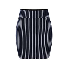 Stripe Print Bodycon Skirt , High Waist Skirt, Midi Skirt Bodycon, Office Skirts, Fitting Skirt, Pencil Skirt, Package Hip Skirt, Retro Skirt #N17712