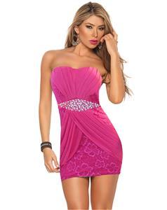 Rhinestone Party ClubWear Dress N7552