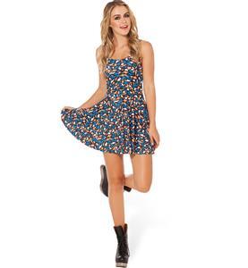 Australia Road Kill Skater Dress, Sleevele Animals Print Pleated Dress, Animals Print Reversible Mini Dress, #N8773