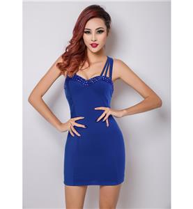Royalblue Mini Dress for Women, Sexy Bodycon Dress for Cheap, Cocktail Party Dresses, Short Club Wear Dress, Casual Dress, #N11169