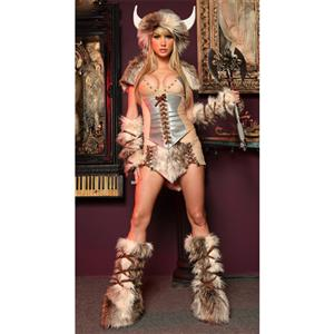 The Viking Deluxe Costume, Female Viking Costume, Adult Sexy Viking Costume, #M2223
