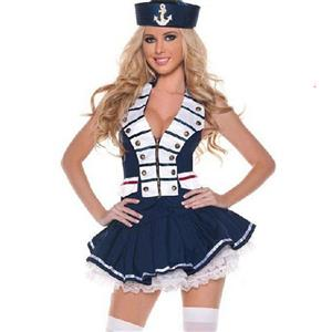 Sailor Costume, Sexy Sailor Costume, Sailor Halloween Costume, #N2904