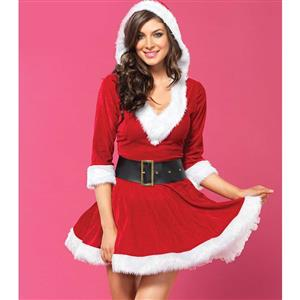 Santa Baby Velvet Holiday Dress XT10918