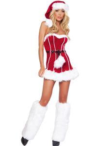 Naughty Santa Mini Dress, Santa Dress, Christmas Lingerie Dress, Sexy Christmas Costume, Sexy Santa Girl