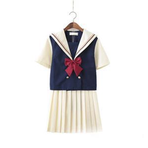 School Girl Costume, JK Uniform Costume, Sexy School Girl Costume, School Girl Adult Costume, Japan School Uniform Cosplay Costume, Short Academy Uniform Sets, Navy Collar School Girl Costume, #N20557