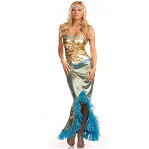 Sexy Sea Worthy Adult Costume, Women Mermaid Costumes, Sailor Uniform, #M1679