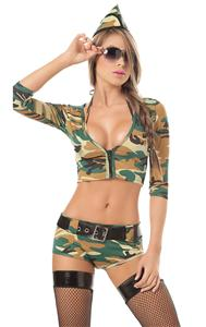 womens army costume, Sexy Army Costume, Army girl Costume, #N1170